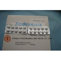 Coated Medicine Tablet Erythromycin Stearate Tablets Medicine For Bacterial Infection 3 Years Shelf Time