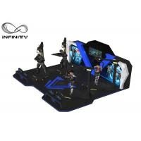 Multi Players 360 View Interactive 9D VR Walking Machine Manufactures