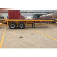 40T 2 Axles Heavy Duty Semi Trailers For Container Transportation Manufactures