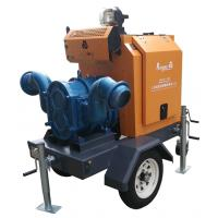 China 10 Inch 4 Strock Diesel Irrigation Water Pump With Weather Proof Enclosure on sale