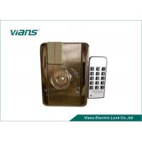 EM Card Home Security Door Locks With Remote Control Open , Nickel Plating Finish Manufactures