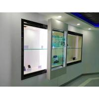 China 32 Inch Transparent Touch Screen Window / Industrial LCD Digital Signage Display on sale