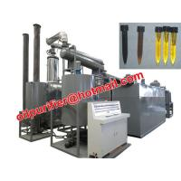 Car Motor Oil Vacuum Distillation Machine With Black Waste Engine Oil Recycle System Manufactures