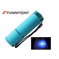China AAA Battery Powered MINI 9 LED Black Light  Led Flashlight for Scorpion Hunt on sale