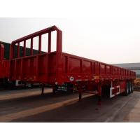 3 axles  fence trailer  90ton semi trucks cargo semi trailer  - CIMC Manufactures