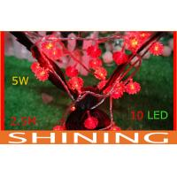 106W Waterproof Battery Operated LED String Lights , 2.5m RED Decoration Light Manufactures