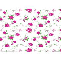 Fashion flower printed paper / sublimation paper roll for textile and garments Manufactures