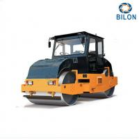 8T 10T Static Tandem Road Rollers With Double Drum Slot Grind Wheel Type