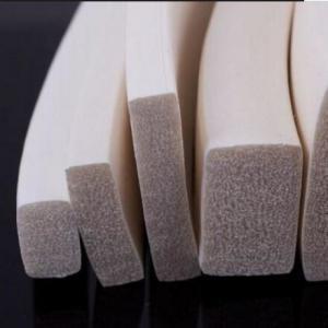 self-adhesive sponge rubber strip door seal / easy and simple to handle foam strip Manufactures