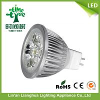 energy saving GU5.3 / GU10 led spotlight bulbs , LED Indoor Spotlight Bulbs Manufactures