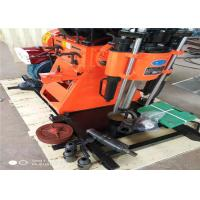 ST200 Red Color Portable Well Drilling Rig , Water Well Drilling Equipment Manufactures