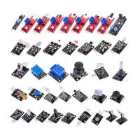 China Electronic Sensor Starter Kit for Arduino of 37 in 1 Sensors Flame Reed Temperature Laser Modules on sale