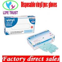 Disposable PVC Gloves, Clear, Powdered and Powder-free Manufactures