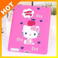 ODM Durable Ipad Silicone Skin Case For Ipad 2 / 3 / 4 / 5 Pink Cover Manufactures