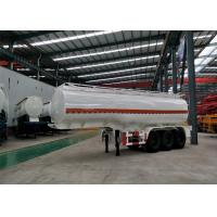 2 Pieces Tire Heavy Duty Semi Trailers 13T Leg Support 30000L Oil Tanker Trailer Manufactures