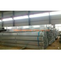 China DIN1626 / BS1387 Welded Pre Galvanized Steel Pipe For Shipbuilding , Bridging on sale