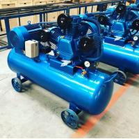 China Share Electric piston belt driven air compressor with 7.5kw 10hp motors on sale