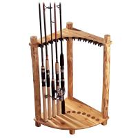 12-Hook Counter Tie Rack
