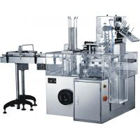 GMP Standard 0.75KW Automatic Cartoning Machine For Food / Cosmetic Industry Manufactures