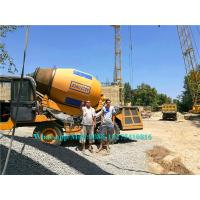Hydraulic Concrete Construction Equipment Self Loading Mobile Concrete Mixer Manufactures