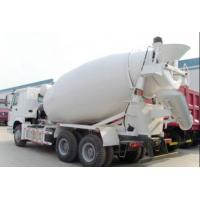 Sinotruk HOWO 6X4 6m3 290HP Mixer Concrete Truck With Large Capacity 8 CBM Manufactures