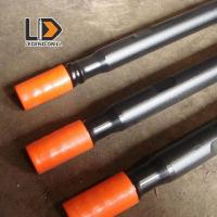 China T38 T45 T5 Water Hardening Drill Rod 610mm - 6095mm For Hard Rock Drilling on sale