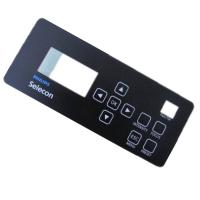 China Screen Front Panel Self Adhesive Rubber Dome Membrane Switch 3M Reflective Film on sale