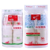 Ice Cream Paper Cup Packing Machine HDPE / LDPE / PP / POF Packing Film Manufactures