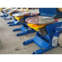 Quality Φ600 Worktable 300KG Rotary Welding Positioners For Manual / Automatic Welding for sale