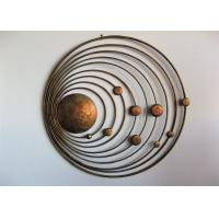 China Laser Cut Contemporary Metal Wall Art Sculpture For Modern Home Decoration on sale