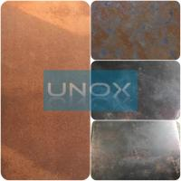 SUS316L Etched Colored Stainless Steel Sheets ,PVD Decoration Sheets 1250mm 1500mm Rose gold, Brown, Bronze, Black, Blue Manufactures