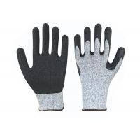 Anti Tearing Cut Proof Work Gloves , Comfortable Endurable Foam Latex Gloves Manufactures