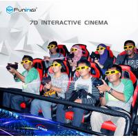 Back Push 5d Cinema Simulator , High Performance Movie Camera Equipment Manufactures