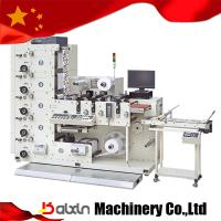 China Small Size Label Flexo Printing Machine 4 Colors on sale