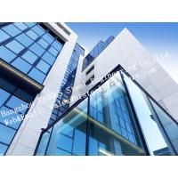Aluminum Exterior Double Glass Facade Curtain Wall Insulation Building System Manufactures