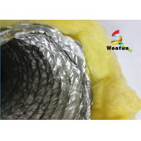 Quality Thermal Insulation Flexible Air Duct Insulation Wrap Aluminum Foil High Compressive Capacity for sale