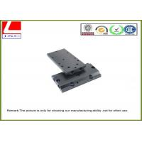 China Medical Optical Instruments CNC Plastic Machining Black ABS Plate on sale