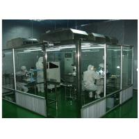 ISO Semiconductor Air Shower Clean Room Class 100 - 10000 With Fan Filter Unit Manufactures