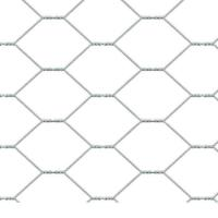 Weaving Convenient Construction Hexagonal Wire Mesh Flat Surface For Filling