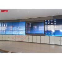 46 Inch Curved LCD Screen Portable Video Wall Indoor Display HDMI DVI VGA Signal Interface Manufactures