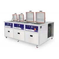 4 tanks Customized PCB Ultrasonic cleaner with cooling system Manufactures