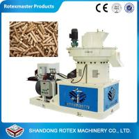 Buy cheap Biomass pellet machine biomass fuel pellet machinery 1-1.5 ton per hour from wholesalers