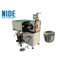 Industrial Automatic Stator Winding Lacing Machine PLC Programming Horizontal Manufactures