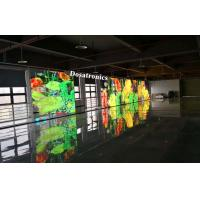 Super Transparent P5 mm x 10 mm Transparent LED Display For Stage Back Ground Manufactures