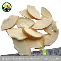 China Direct buy China hot sale baby food freeze dried fruit apple chips on sale