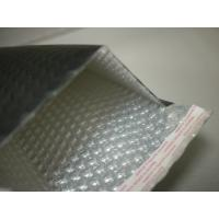 Heat Seal Black Poly Bubble Mailers 0 / 6 By 10 , Bubble Lined Courier Bags For Apparel Manufactures