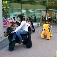 China Hansel family entertainment center zippy animal rides for mall on sale