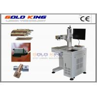 Buy cheap High technological different colour Fiber laser marking machine for stainless from wholesalers