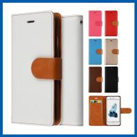 China Magnet Wallet Flip Cell Phone Leather Cases Built In Credit Card Slots on sale