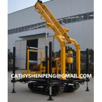 Quality 200 Crawler type Hydraulic water well drilling rig with BW160 Mud Pump for sale